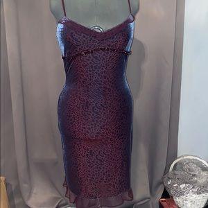 Betsy Johnson vintage cheetah dress